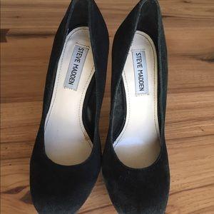 Steve madden black high heels